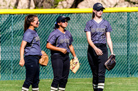 BSHS Softball vs Snyder, 3/14/2017