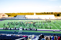 Big Spring Marching Band Performing At The UIL Region VI Marchin