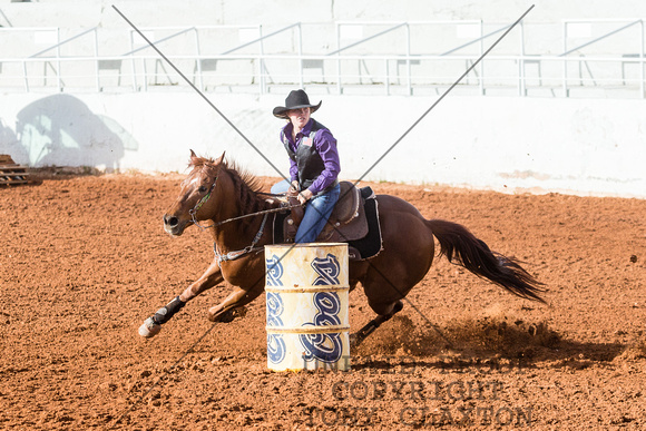 Sydney Graham - Barrel Racing