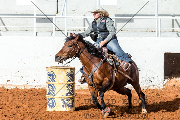 Payton Plant - Barrel Racing