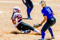 Kylie Shay Sliding Safely Into Third Base