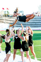BSHS Cheer at Sweetwater Football Game, 9/8/2017
